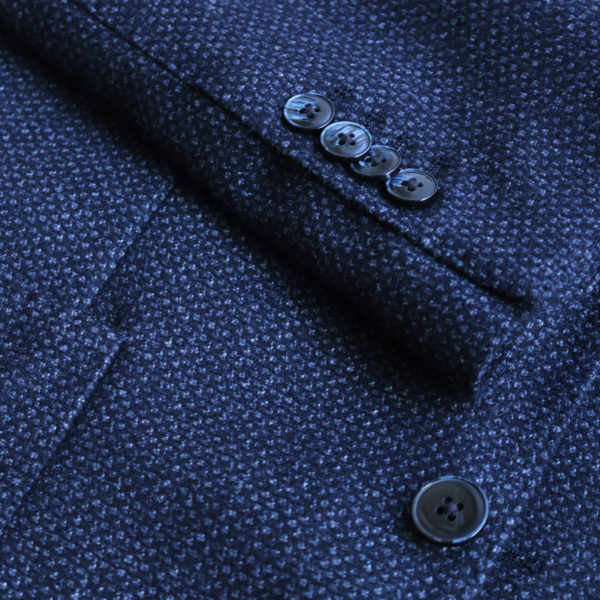 LBM jacket navy button detail