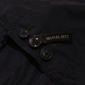 Muriel Ritz jacket in black detail