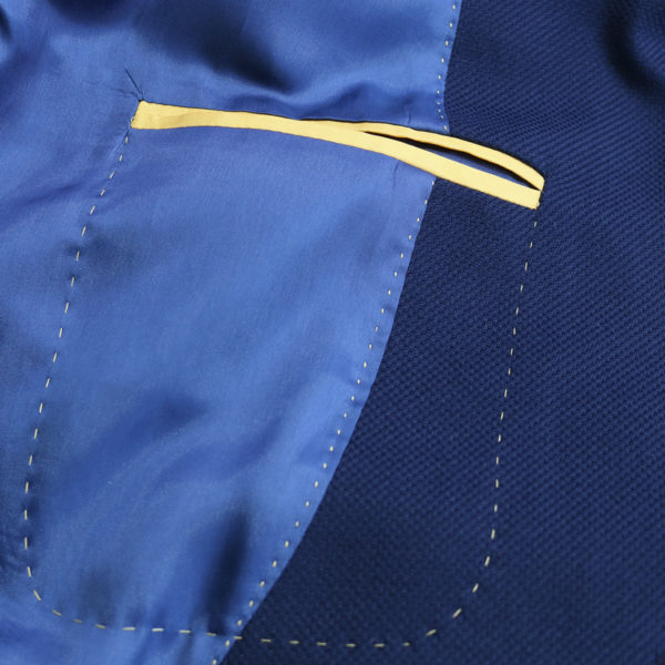 Muriel Ritz jacket navy lining