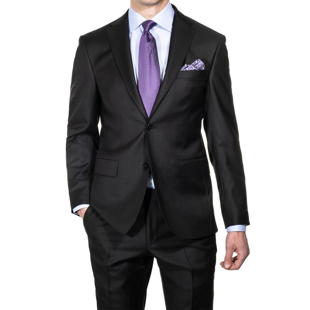 NAVY CANALI SUIT 4