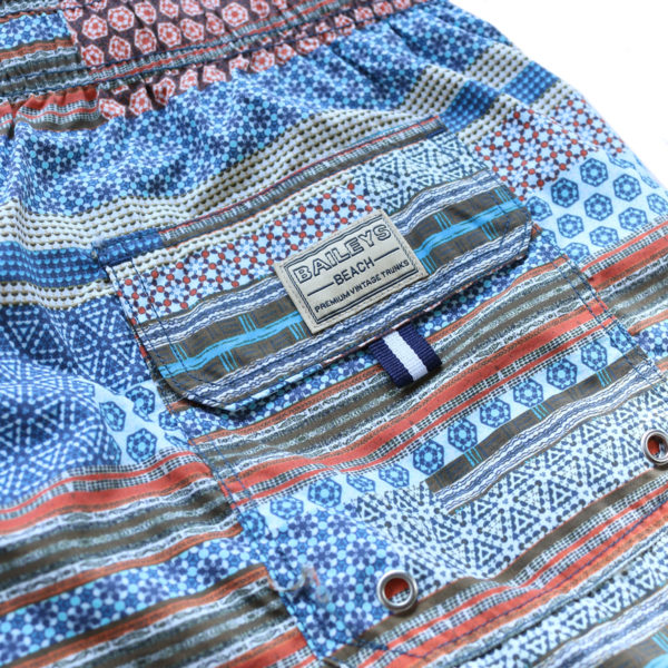 OSCAR OF SWEDEN SWIM SHORTS back pocket