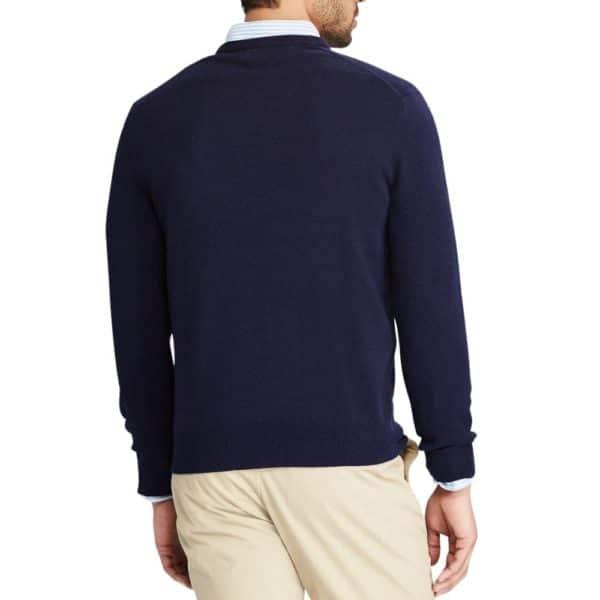 POLO RALPH LAUREN Merino Wool V neck jumper 1