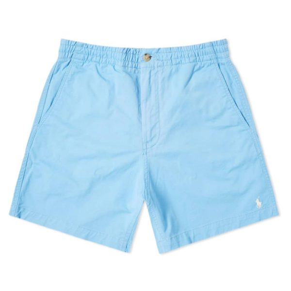 POLO RALPH LAUREN PREPSTER STRETCH CLASSIC FIT SHORTS IN BLUE