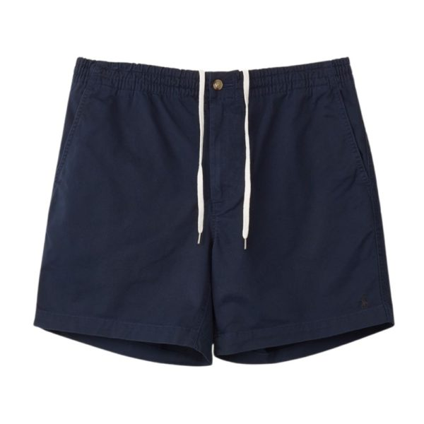 POLO RALPH LAUREN PREPSTER STRETCH CLASSIC FIT SHORTS IN NAVY