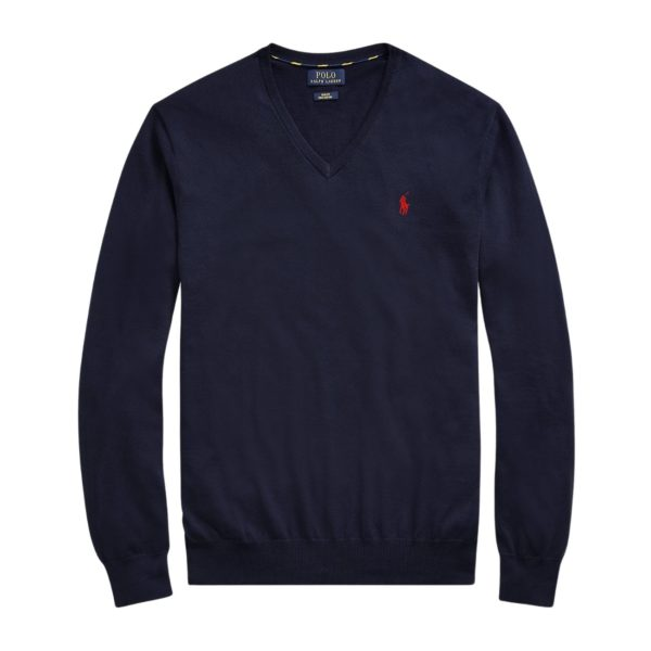 POLO RALPH LAUREN SLIM FIT MERINO WOOL SWEATER