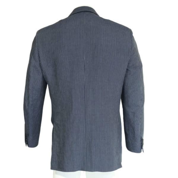 Pal Zileri striped suit jacket back