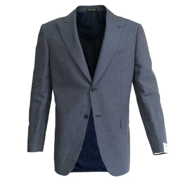 Pal Zileri striped suit jacket front