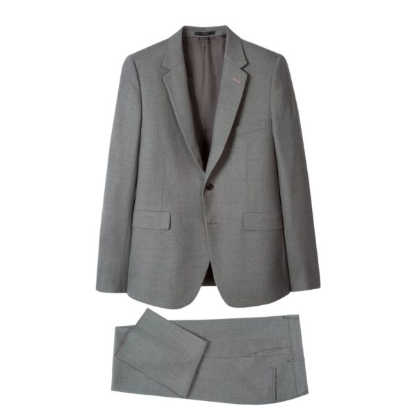 Paul Smith Mens Slim Fit Sterling Grey suit all 2