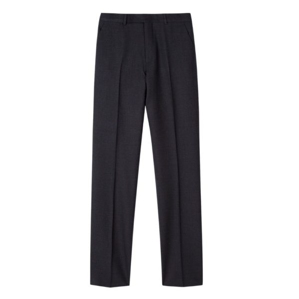 Paul Smith Mens Tailored Fit wool suit in Charcoal Trousers