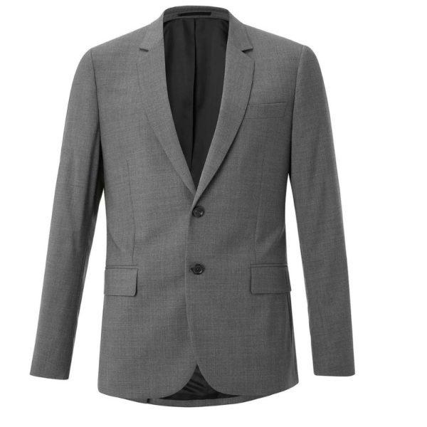 Paul Smith Mens Textured Grey Suit jacket V2