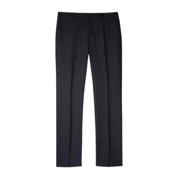 Paul Smith Navy Check Trousers 1