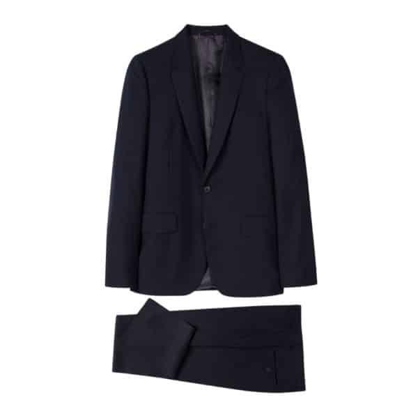 Paul Smith Navy suit 49 plain all