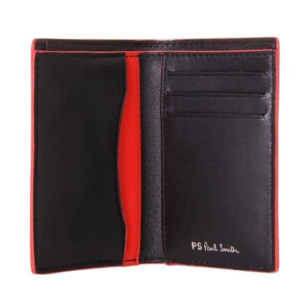 Paul Smith Slip Wallet open black