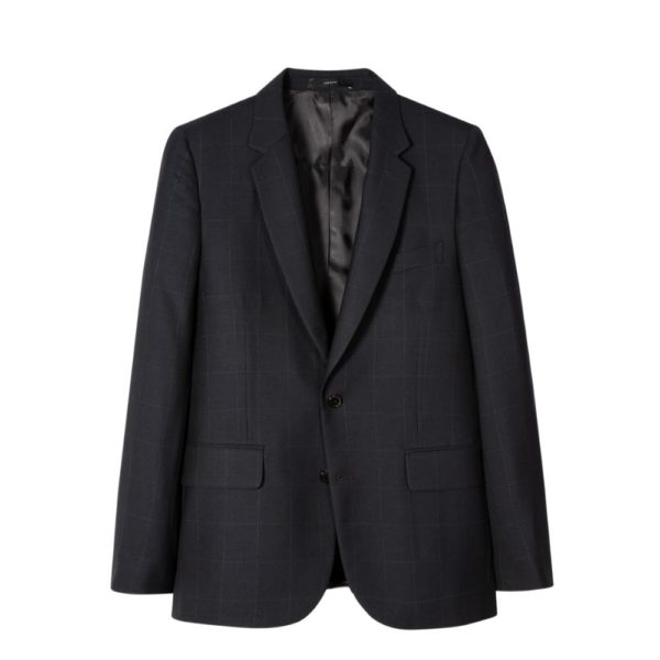 Paul Smith Suit Navy Check jacket 1