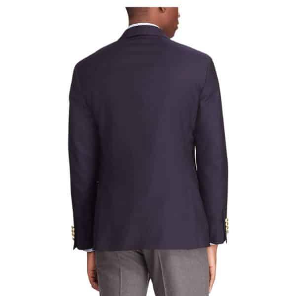 Polo Ralph Lauren Navy Wool Twill Blazer rear