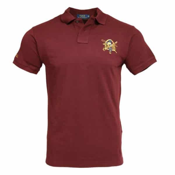 Polo Ralph Lauren burgundy polo shirt