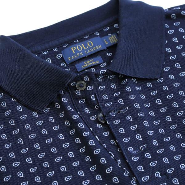 Polo Ralph Lauren polo shirt navy collar