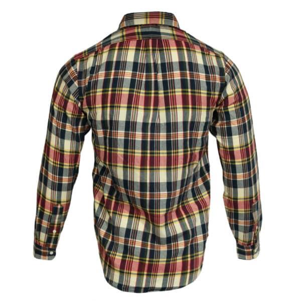 Polo Ralph Lauren red check polo shirt back