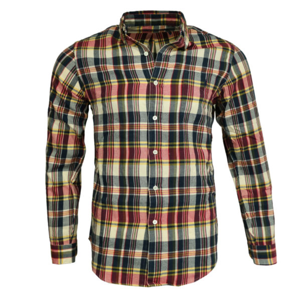 Polo Ralph Lauren red check polo shirt front
