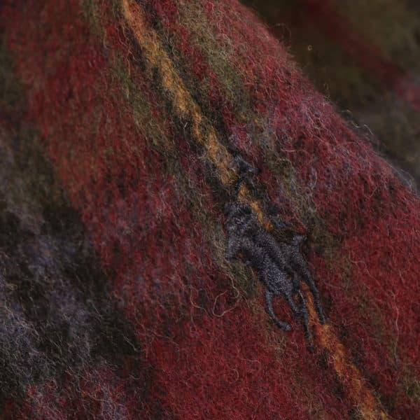 Ralph Lauren wool scarf logo detail