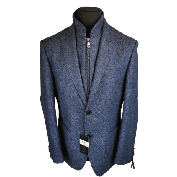 Roy Robson Blazer Jacket with Zip Collar