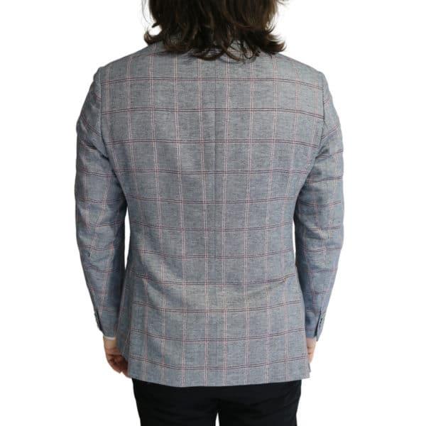 Roy Robson big check jacket back