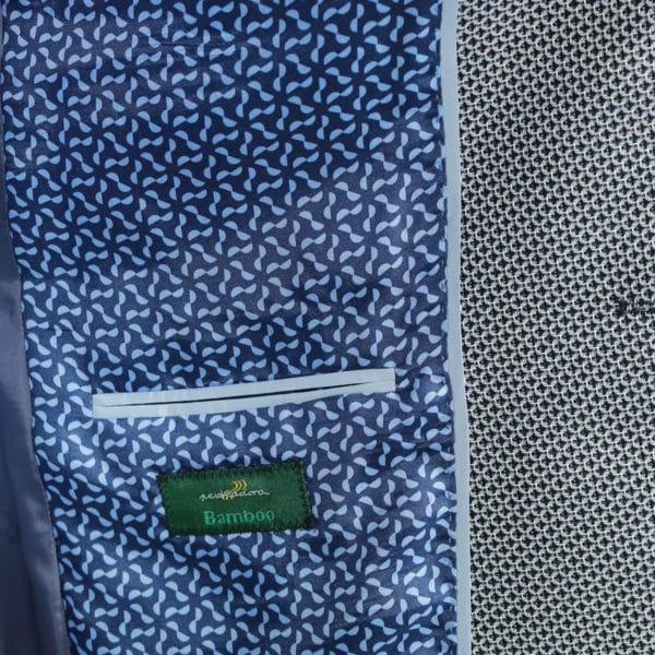 Roy Robson blazer jacket bamboo fabric navy 1