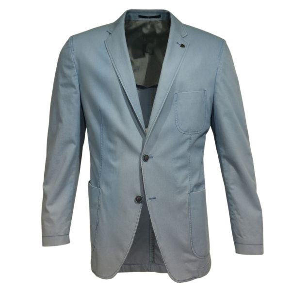 Roy Robson blazer jacket light blue front