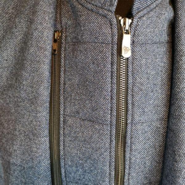 Roy Robson blazer jacket with zip insert closeup