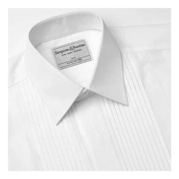 Simpson Ruxton Madrid Dress Shirt classic collar 1