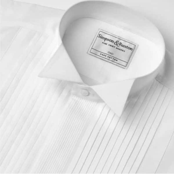 Simpson Ruxton Madrid Dress Shirt winged collar