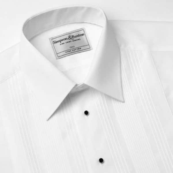 Simpson Ruxton Rome Dress Shirt regular collar