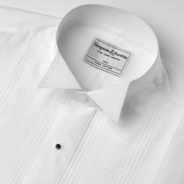 Simpson Ruxton Rome Dress Shirt winged collar