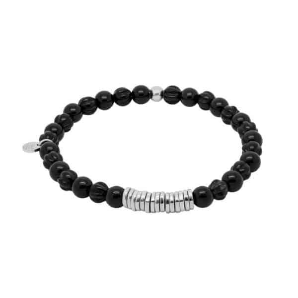 Tateossian Black Tiger Eye Bracelet