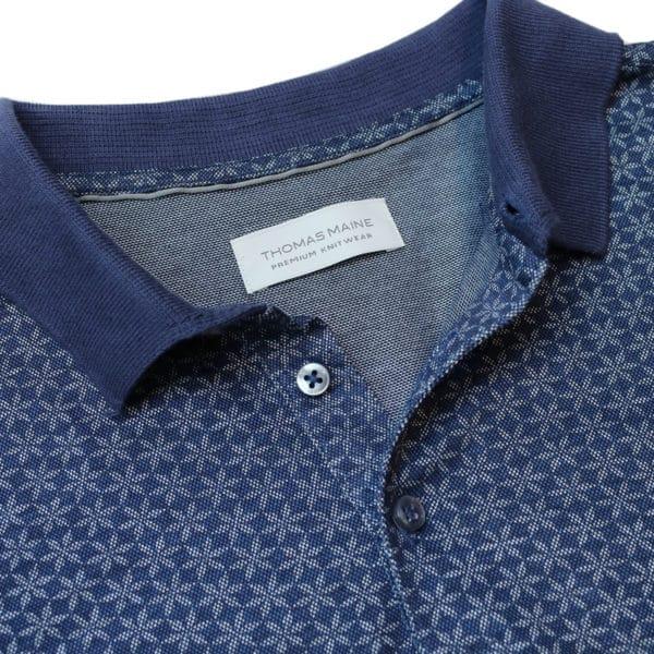 Thomas Maine polo shirt collar