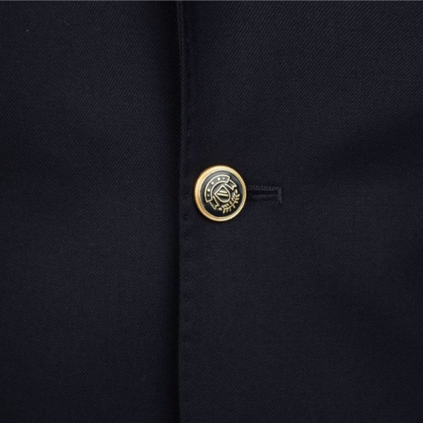 WARWICKS NAVY SINGLE BREASTED BLAZER button