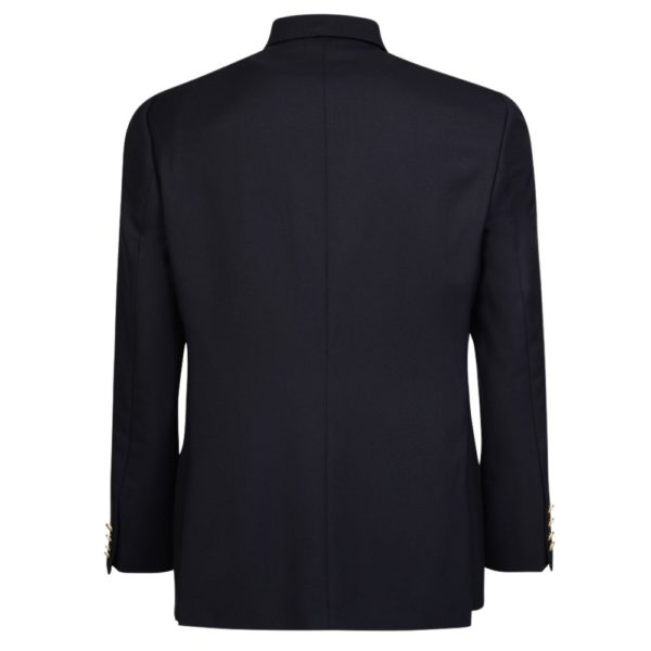 WARWICKS NAVY SINGLE BREASTED BLAZER rear
