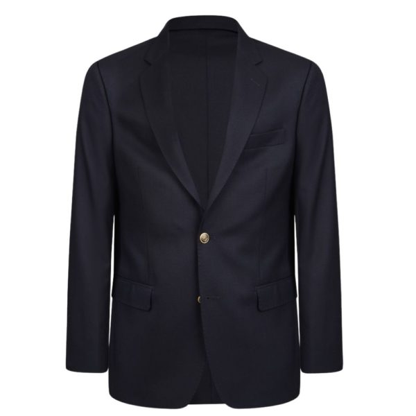 WARWICKS NAVY SINGLE BREASTED front BLAZER 1