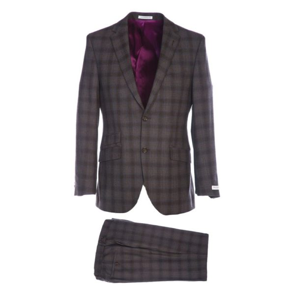 WITHOUT PREJUDICE SUIT RANDOLPH BROWN CHECK