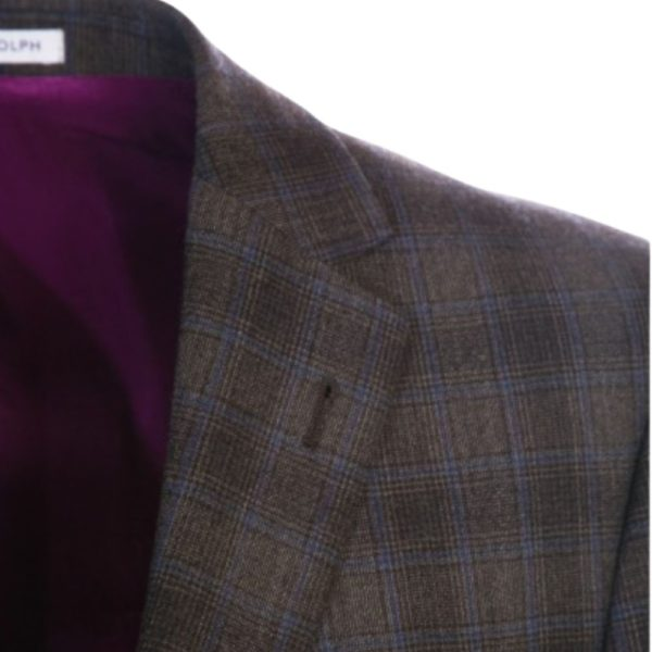 WITHOUT PREJUDICE SUIT RANDOLPH BROWN CHECK1