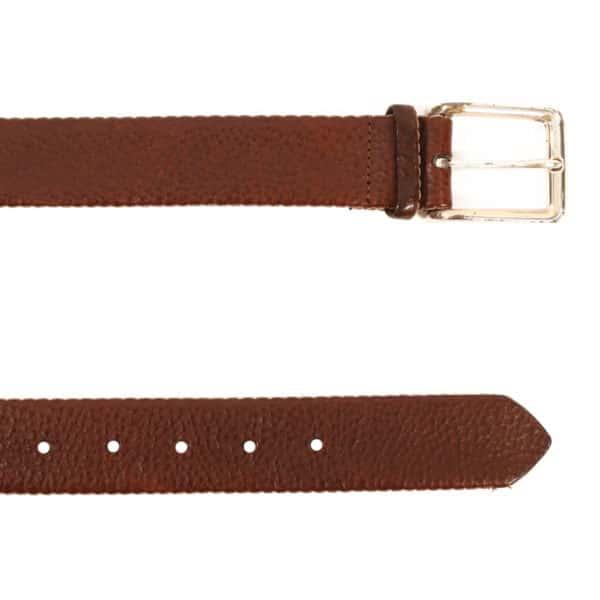 Warwicks brown leather belt1