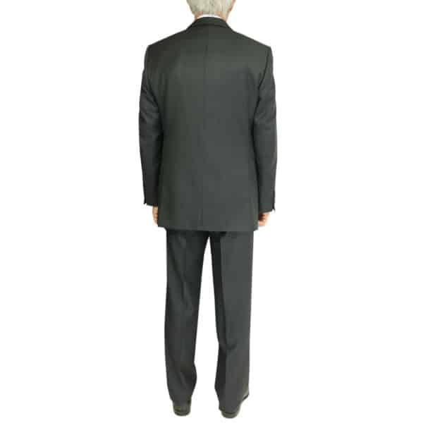 Warwicks charcoal suit back