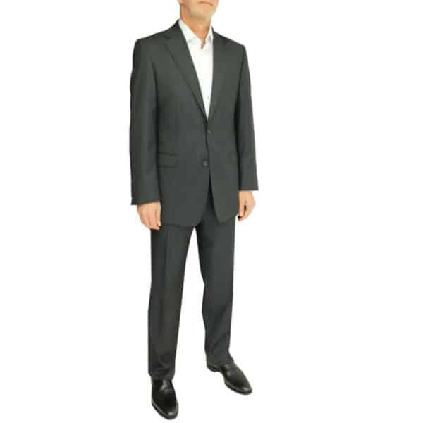 Warwicks charcoal suit side