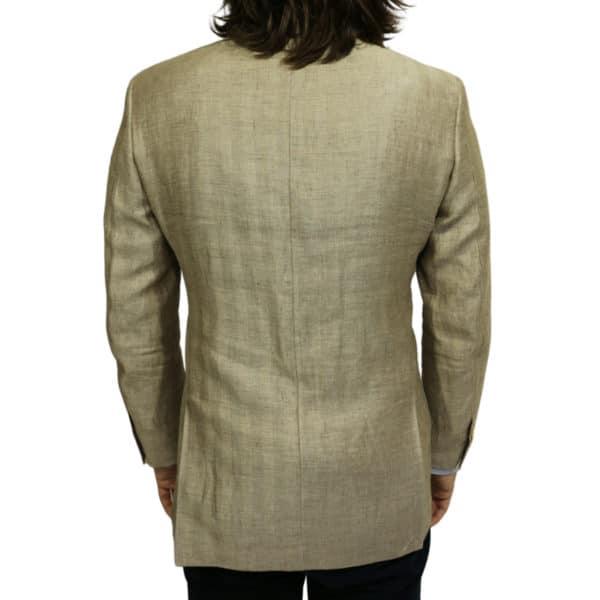 Warwicks linen blazer jacket back