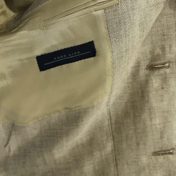 Warwicks linen blazer jacket beige