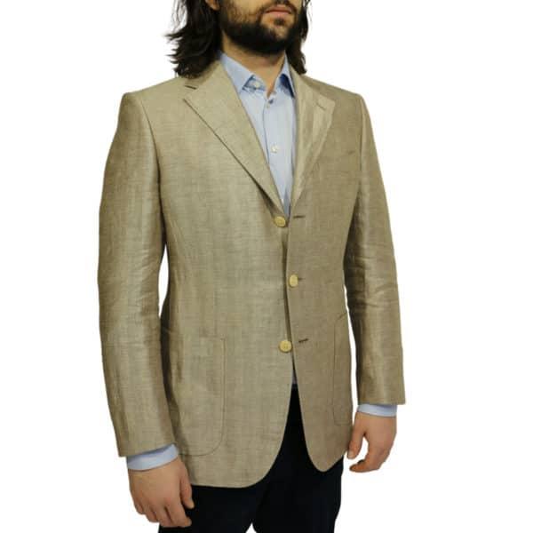 Warwicks linen blazer jacket sjde 1