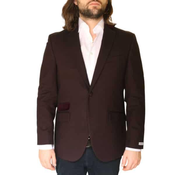 Without Prejudice Burgundy jacket