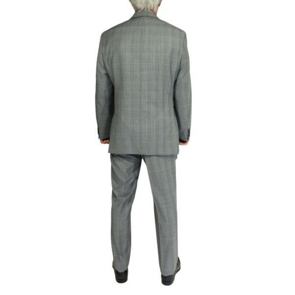 Without Prejudice grey check suit back
