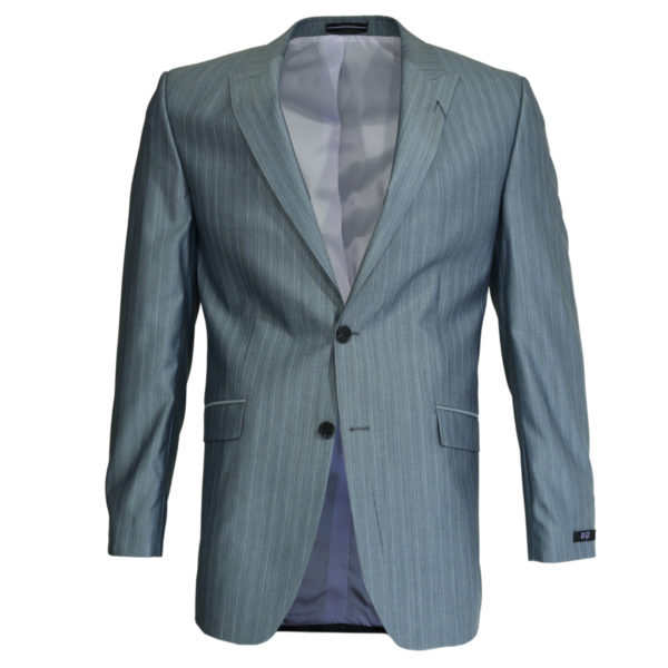 Without Prejudice grey striped suit jacket