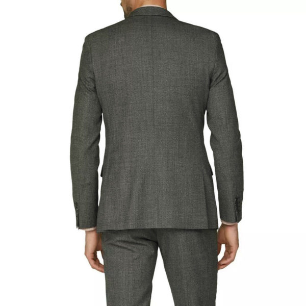 canali gray wool suit